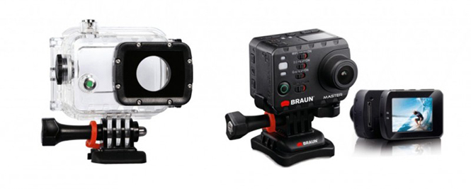 Braun Master Action Camera