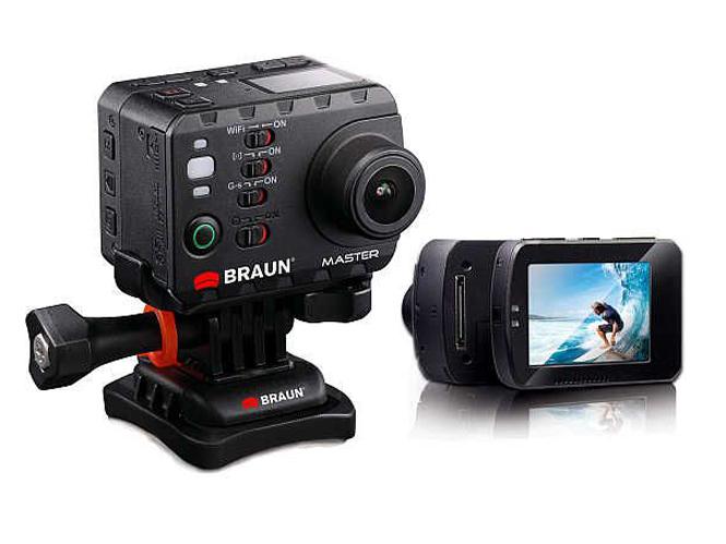 Νέα Braun Master Action Camera, αδιάβροχη στα 100 μέτρα