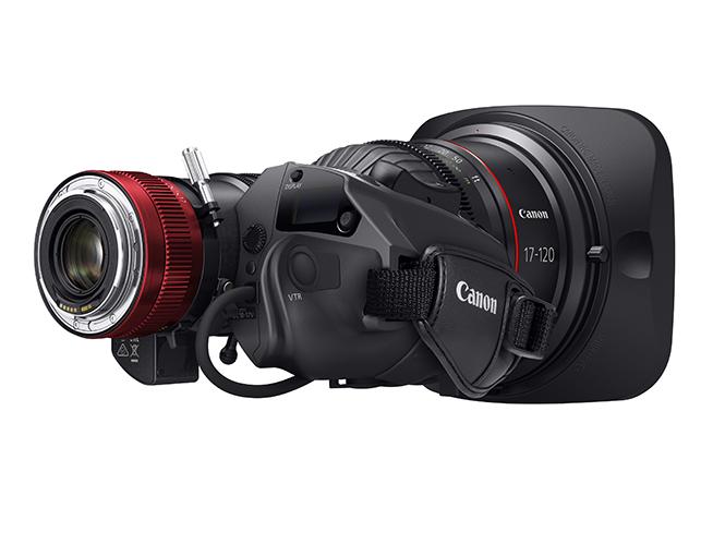 Canon Cine Servo 17-120mm T2.95