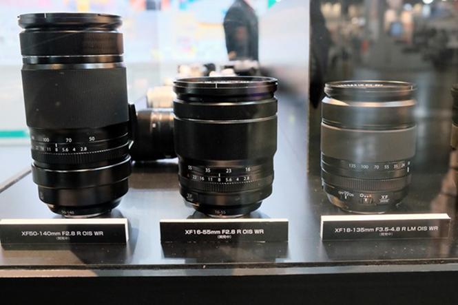 Fujifilm-lenses