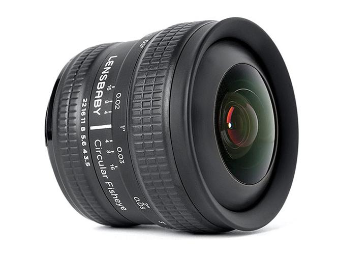 Ανακοινώθηκε ο νέος Lensbaby 5.8mm f/3.5 Circular Fisheye