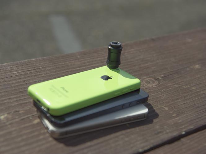 Lensbaby Sweet Spot Lens, φακός για iPhone μέσω Kickstarter