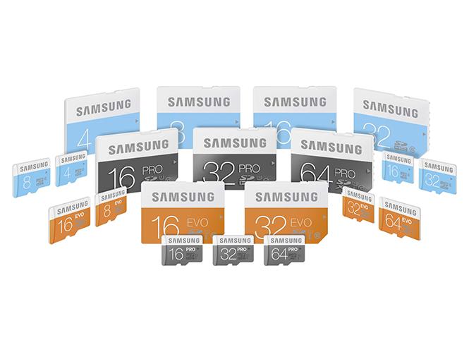 H Samsung παρουσιάζει νέα σειρά καρτών μνήμης SD και microSD