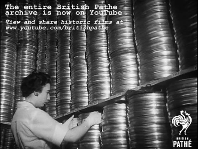 Χιλιάδες newsreels της British Pathé διαθέσιμα δωρεάν στο YouTube