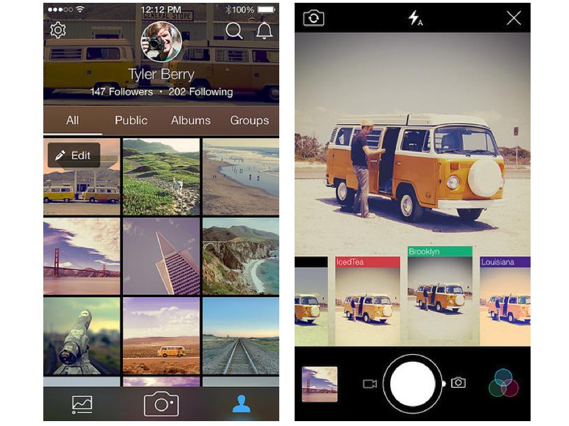Αναβάθμιση για τις εφαρμογές της Flickr για  Android και iOS