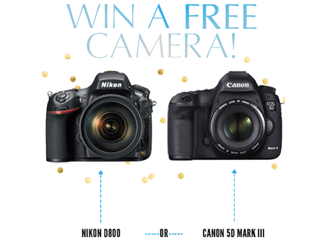 Μεγάλος διαγωνισμός, κερδίστε μία Nikon D800 ή μία Canon EOS 5D Mark III