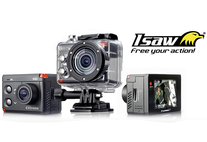 iSAW EXtreme, νέα action camera