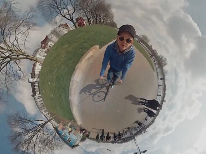 Τρελό πανοραμικό Time Lapse video 360° με την βοήθεια 6 GoPro