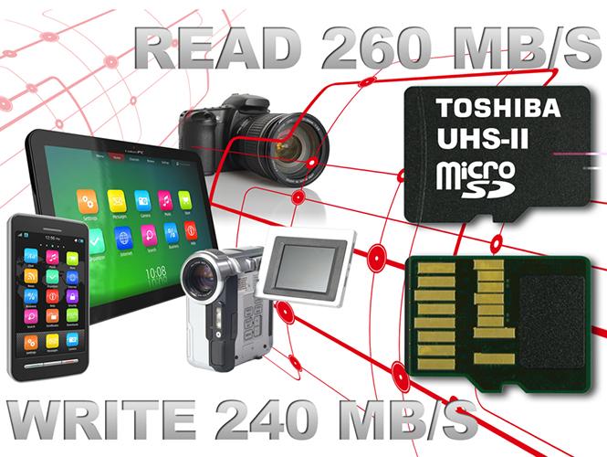 Η Toshiba ανακοίνωσε την πιο γρήγορη MicroSD κάρτα μνήμης στον κόσμο