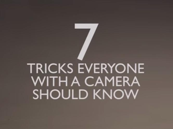 7 φωτογραφικά τρικ τα οποία δεν θέλουν κόπο αλλά τρόπο