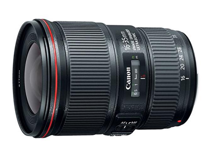 Η Canon ανακοίνωσε τον νέο Canon EF 16-35mm f/4L IS USM