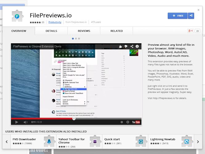 Extension για τον Google Chrome μας επιτρέπει να βλέπουμε τα RAW αρχεία μας