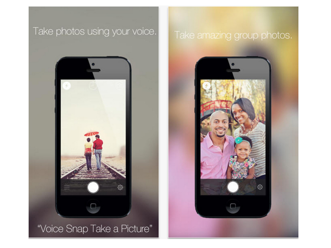 VoiceSnap, δημιουργήστε φωτογραφίες με το iPhone σας μέσω φωνητικών εντολών