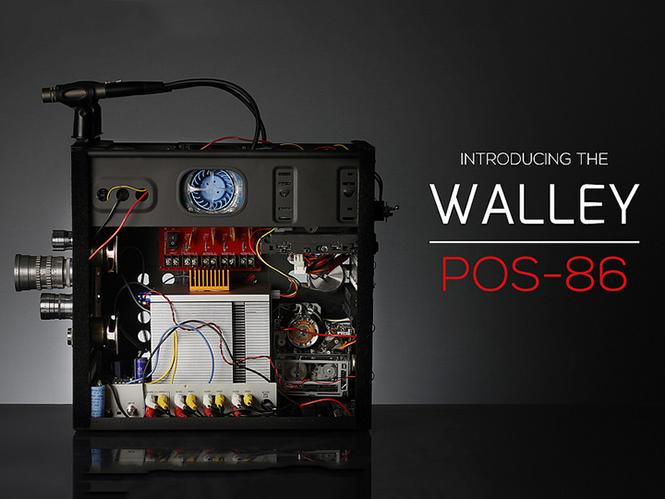 WALLEY POS-86: η πιο εξελιγμένη do it yourself videocamera διαθέτει και floppy disk