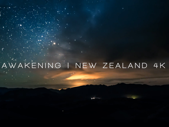 Awakening – New Zealand 4K: Time Lapse video στην χώρα του Lord of the Rings