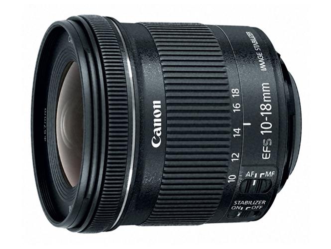Νέος Canon EF-S 10-18mm f/4.5-5.6 IS STM με τιμή στα 300 δολάρια