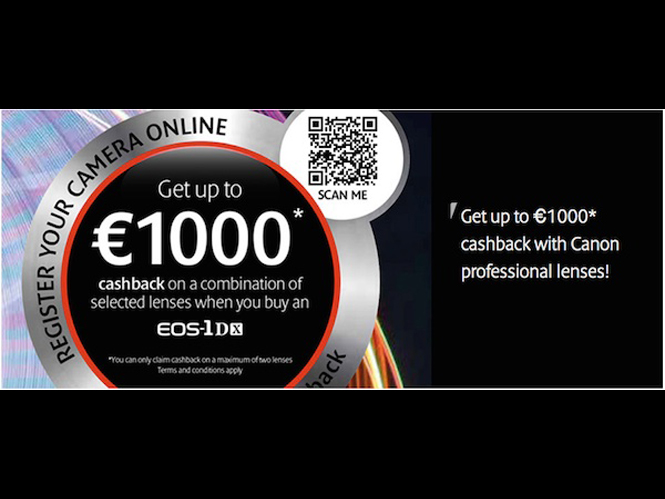 Cashback promotion από την Canon Ευρώπης επιστρέφει 1.000 ευρώ για αγορά DSLR και φακού