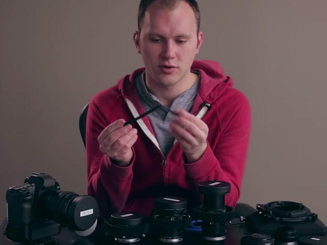 Μετατρέψτε τους παλιούς manual φακούς σας σε κινηματογραφικούς φακούς