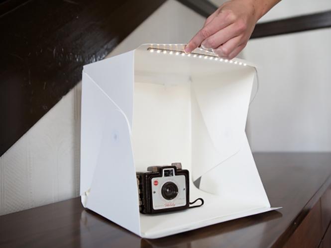 Foldio, ένα pop-up studio κουτί για φωτογράφιση αντικειμένων