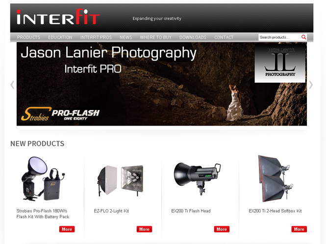 Δείτε την νέα ιστοσελίδα της Interfit