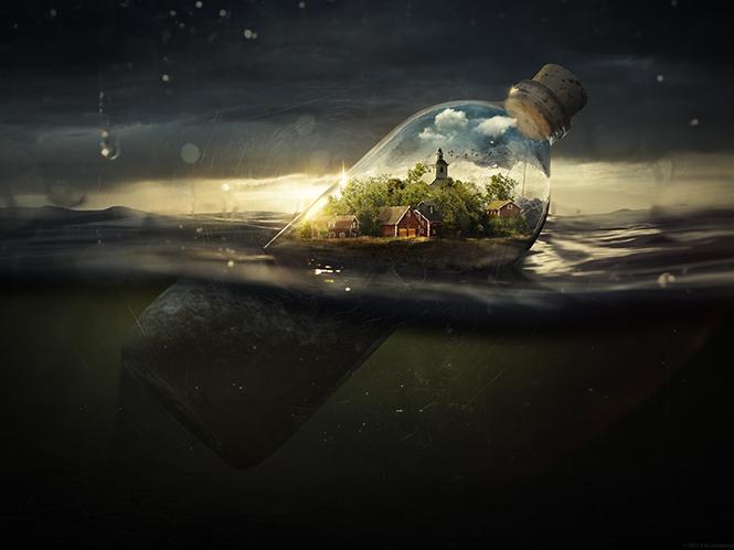 Drifting Away - Erik Johansson