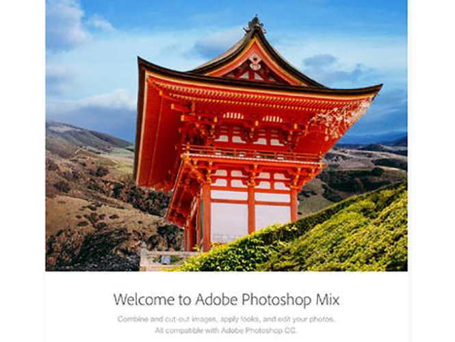 Ανακοινώθηκε το Adobe Photoshop Mix για το iPad