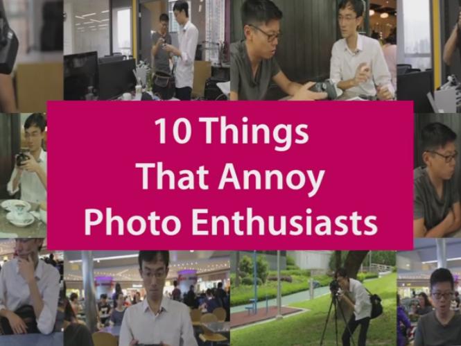 Δείτε 10 πράγματα που εκνευρίζουν όσους ασχολούμαστε σοβαρά με την φωτογραφία