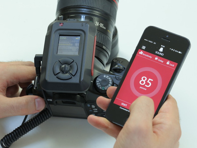 MIOPS, ελέγξτε την μηχανή σας ασύρματα για την λήψη high-speed φωτογραφιών