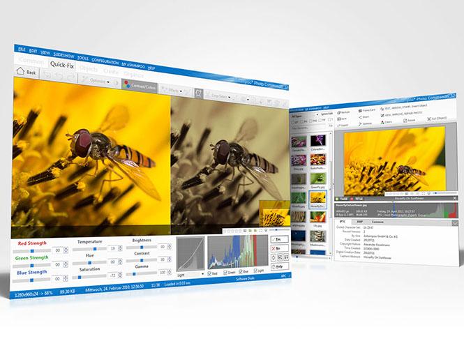 Photo Commander 12, νέα έκδοση του λογισμικού επεξεργασίας εικόνων της Ashampoo