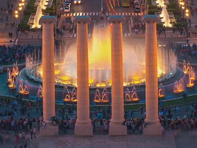 Barcelona GO! H Βαρκελώνη μέσα από ένα φανταστικό Hyperlapse Time Lapse video