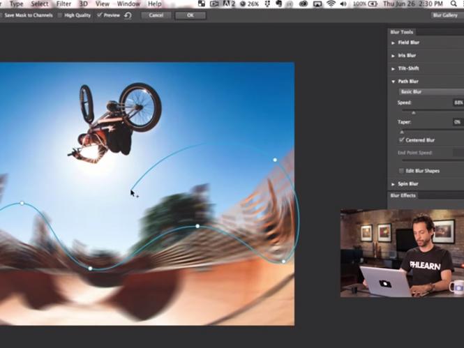 Blur Gallery στο  Adobe Photoshop CC 2014, δείτε πως να την χρησιμοποιήσετε