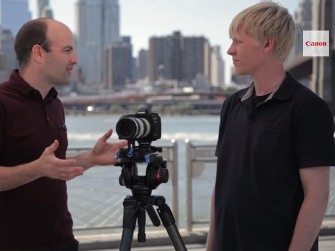 H Canon μας μιλάει για την χρήση τριποδιού στην λήψη video