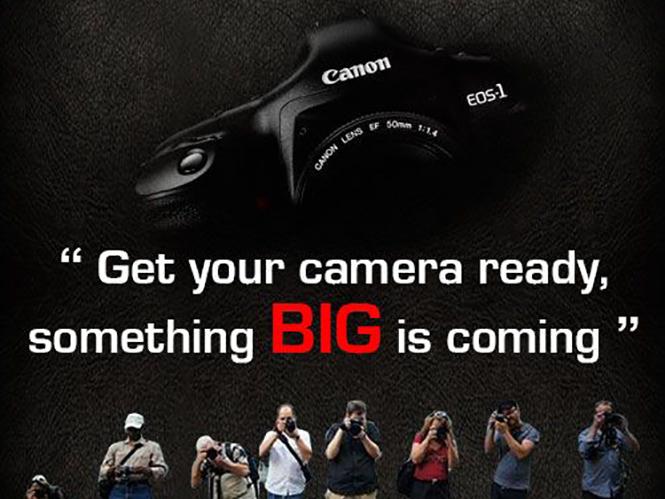 Η Canon Ινδίας μας προετοιμάζει για κάτι ΜΕΓΑΛΟ