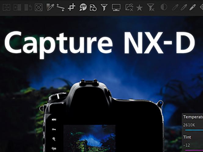 Νέα έκδοση για το Nikon Capture NX-D