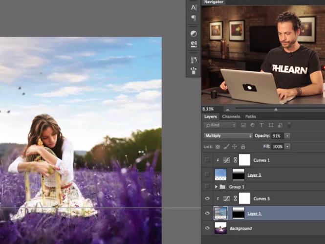 Δείτε πως να αντικαταστήσετε τον ουρανό στο Adobe Photoshop