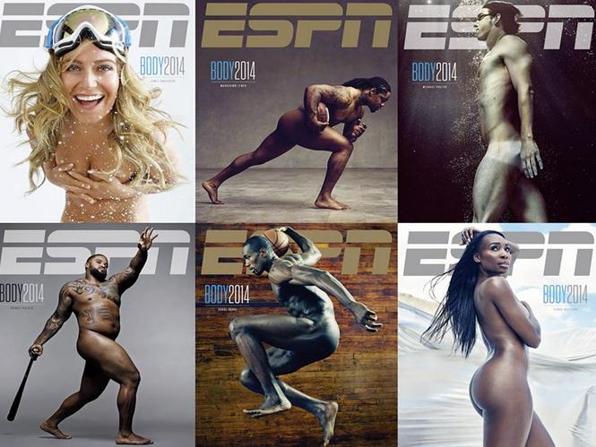 Στα παρασκήνια της φωτογράφισης του τεύχους του ESPN, Body Issue για το 2014
