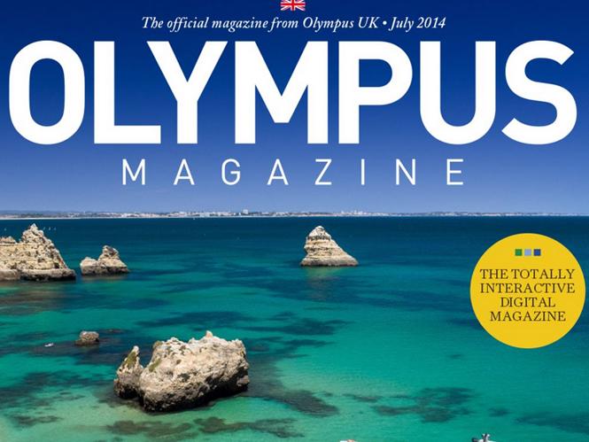 Olympus Magazine, διαθέσιμο το τεύχος Ιουλίου 2014