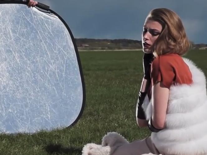 Φωτογράφιση μόδας με κόντρα ήλιο ή flash και την βοήθεια ανακλαστήρα