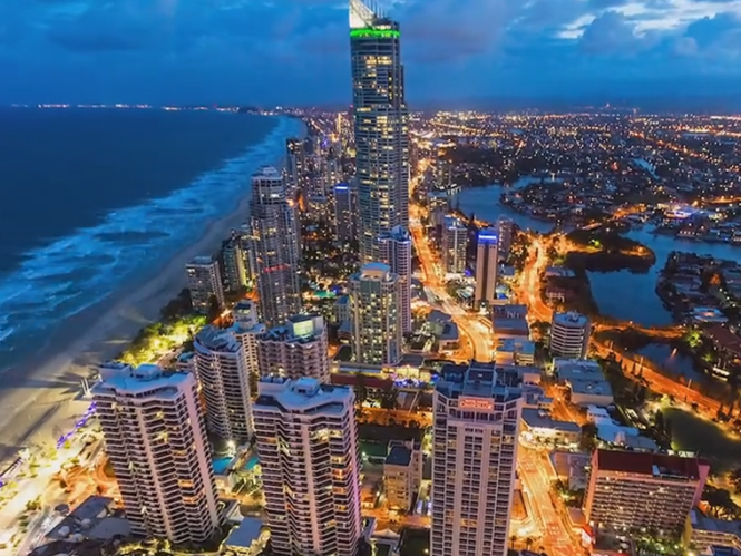 Australia's Gold Coast, εντυπωσιακό Time Lapse από την Αυστραλία με λήψεις και από ελικόπτερο