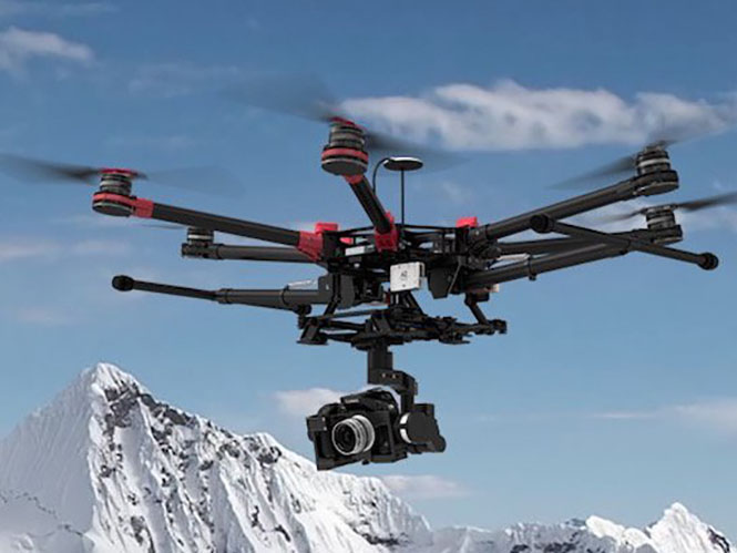 DJI Spreading Wings S900, νέο drone από την DJI