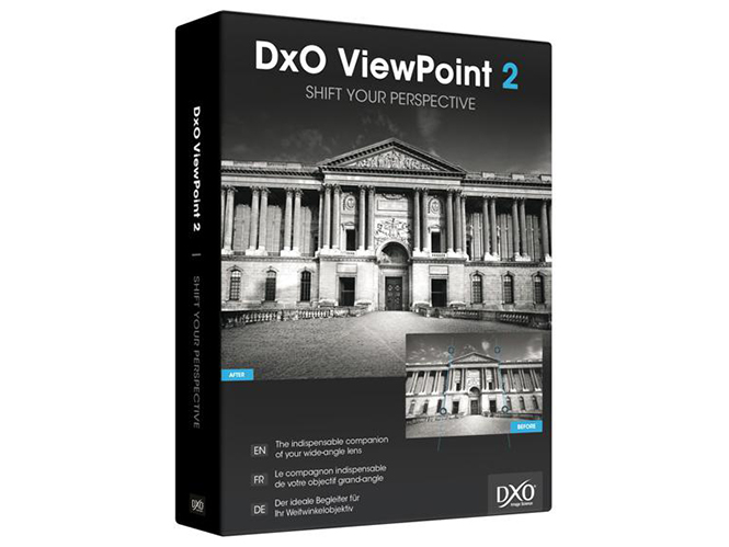 DxO ViewPoint box