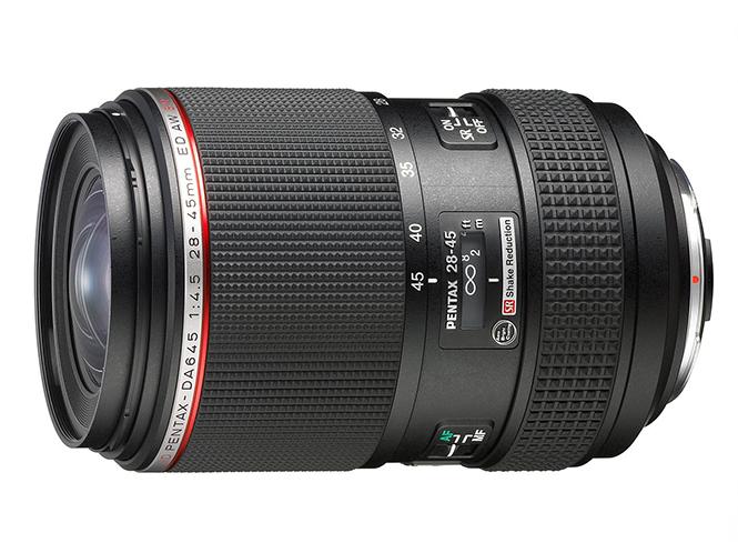 Νέος φακός HD PENTAX-DA645 28-45mm F4.5 ED AW SR