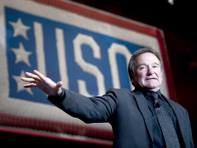 To Getty Images θυμάται τον Robin Williams