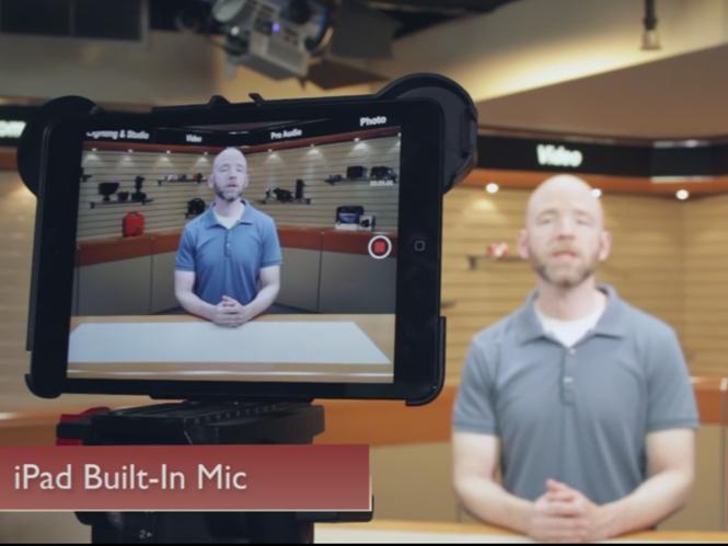 Πως να βελτιώσετε την ποιότητα εγγραφής ήχου όταν δημιουργείτε video με τα iPad και iPhone
