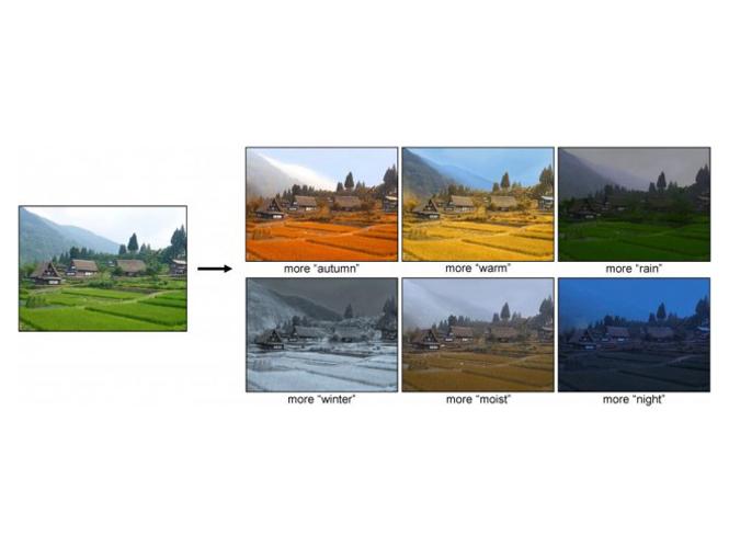 Νέος Αλγόριθμος θα μας επιτρέπει να αλλάζουμε τις εικόνες μας βάση της εποχής του χρόνου