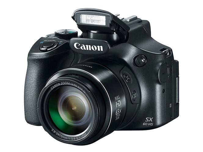 Canon PowerShot SX60 HS με 65x zoom, μηχανή ή τηλεσκόπιο;