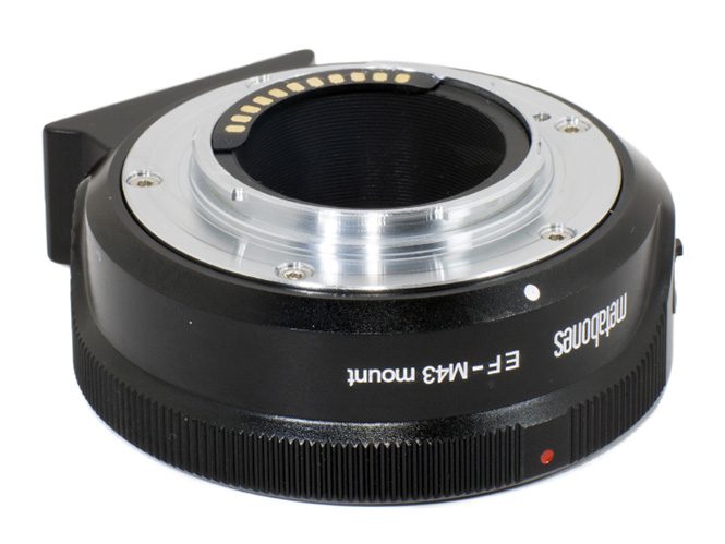 Canon EF Lens to Micro Four Thirds Smart Adapter