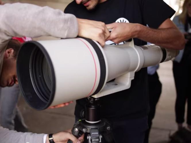 Δείτε σε δράση τον θηριώδη Canon EF 1200mm f/5.6 L USM