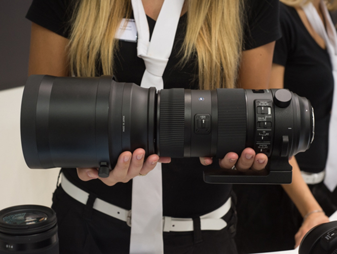 Sigma 150-600mm Sports, ελληνικό Hands On (Photokina 2014)