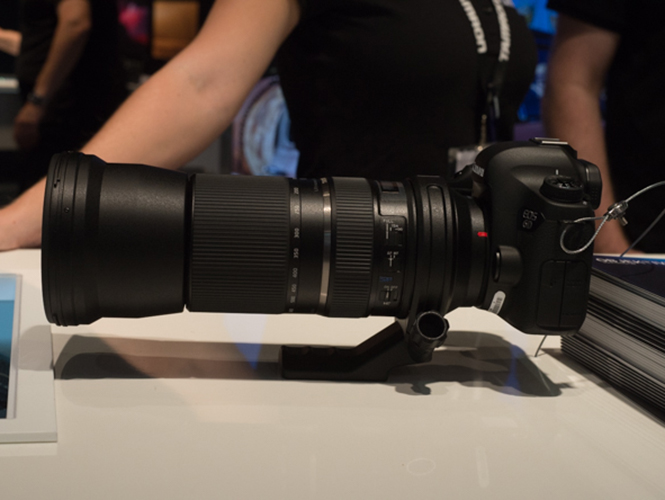 Tamron 150-600mm, αποκλειστικό Hands On video (Photokina 2014)